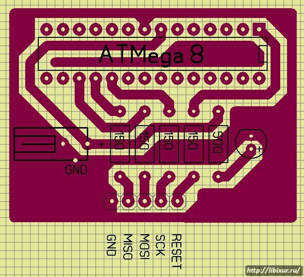 программатор для ATMega8