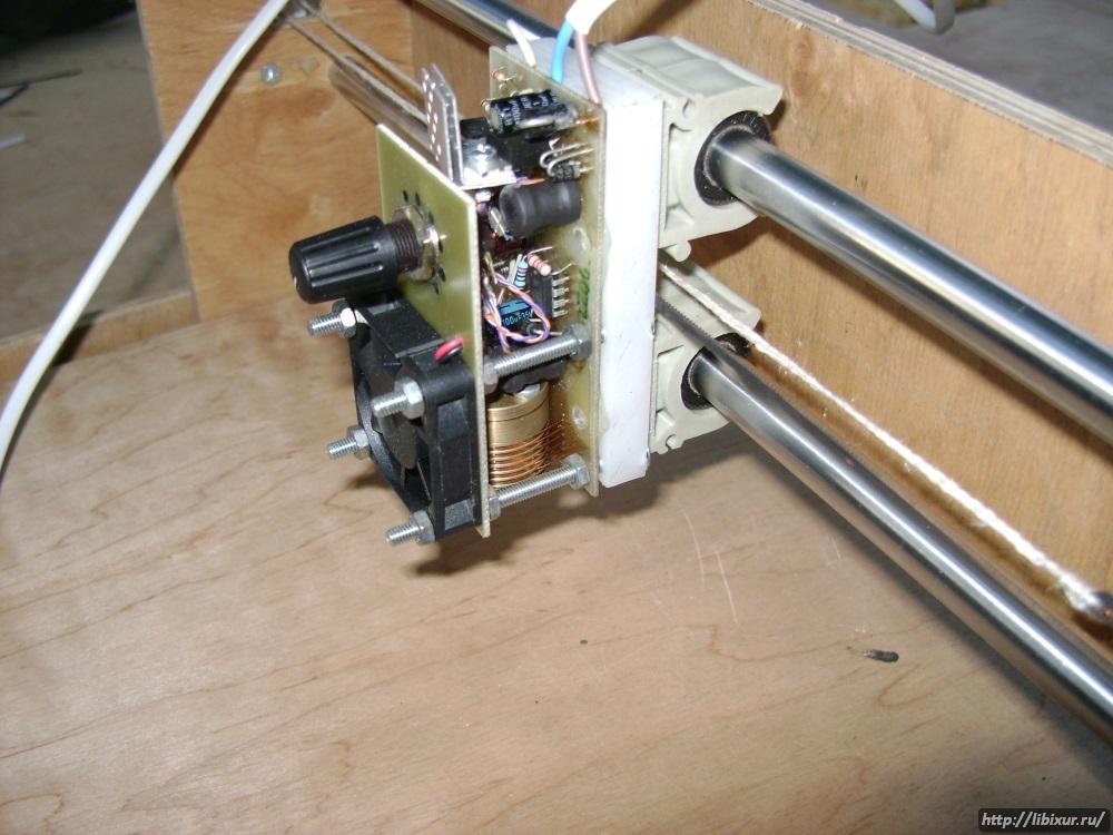 Лазерный станок с чпу своими руками