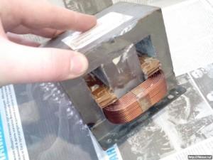 Трансформатор від мікрохвильовки застосування